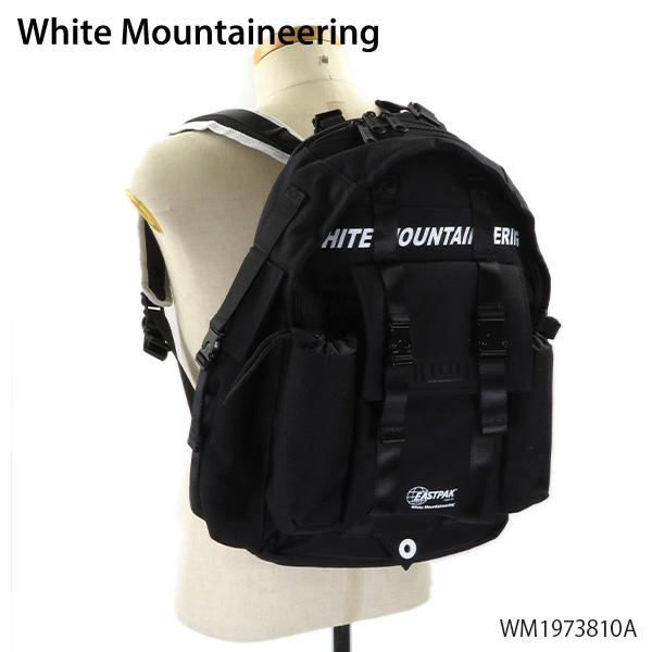 【送料無料】【2019 AW】【並行輸入品】『White Mountaineering-ホワイトマウンテニアリング-』WM×EASTPAK Multi Pocket Backpack バックパック リュック ユニセックス [WM1973810A]【スーパーSALE開催☆ポイント最大44倍!!6/11 01:59マデ】