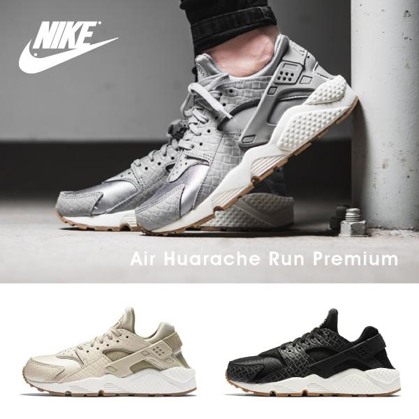 【送料無料】【並行輸入品】『Nike-ナイキ-』Air Huarache Run Premium Shoe 〔683818〕