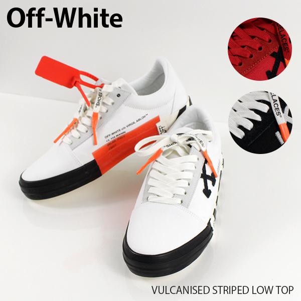 {メンズ off white オフホワイト ハイカットスニーカー 靴 タグ ホワイト グリーン レッド ハイストリートカジュアル