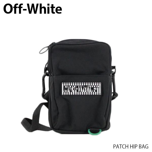 【送料無料】【2019 SS】【新作】『Off-White-オフホワイト-』PATCH HIP BAG-パッチ ヒップ バッグ 立体ロゴ-〔OMNA055R19C06021〕