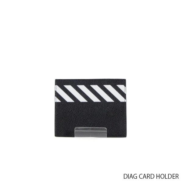 【送料無料】【2019 SS】【新作】『Off-White-オフホワイト-』DIAG CARD HOLDER-ダイアグ カード ホルダー-〔OMND005R19C44032〕