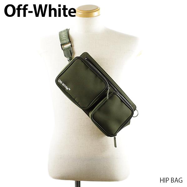【送料無料】【2019 SS】【新作】『Off-White-オフホワイト-』HIP BAG-ヒップ バッグ-〔OMNA038R19C06041〕