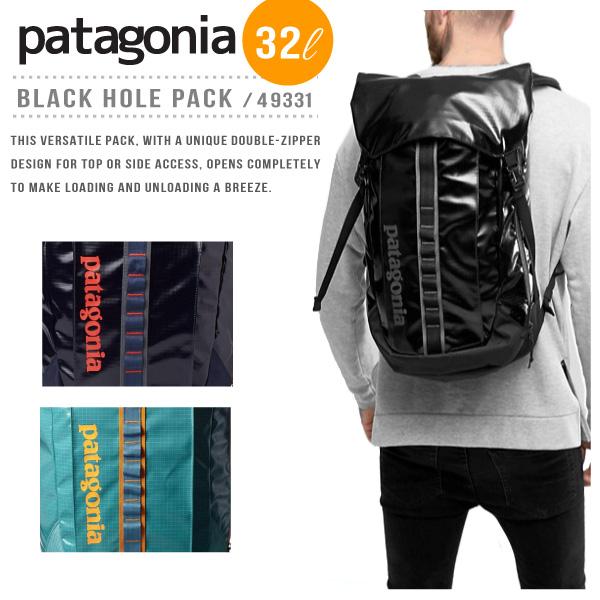 【予約】【2018 SS】【送料無料】【並行輸入品】『Patagonia-パタゴニア-』Black Hole Pack 32L 〔49331〕[ブラックホール パック 32L]