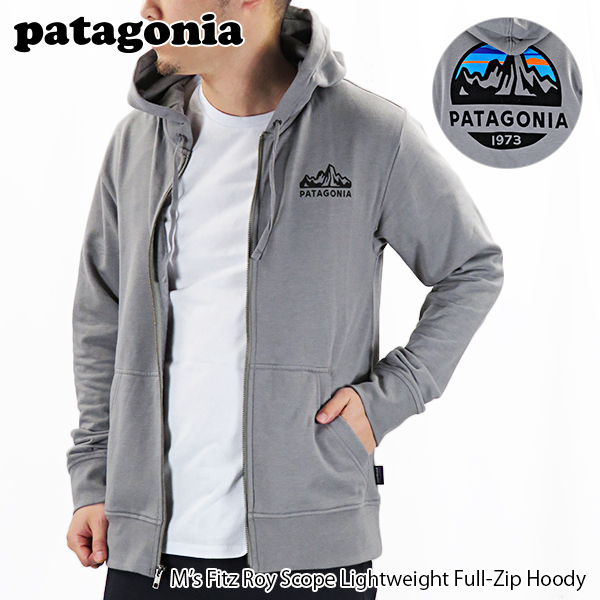 【並行輸入品】『patagonia-パタゴニア-』M's Fitz Roy Scope Lightweight Full-Zip Hoody[39545]