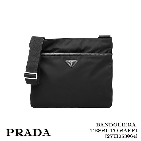 【送料無料】【並行輸入品】【2018】『PRADA-プラダ-』Tessuto Saffiano [2VH053064 F0002]