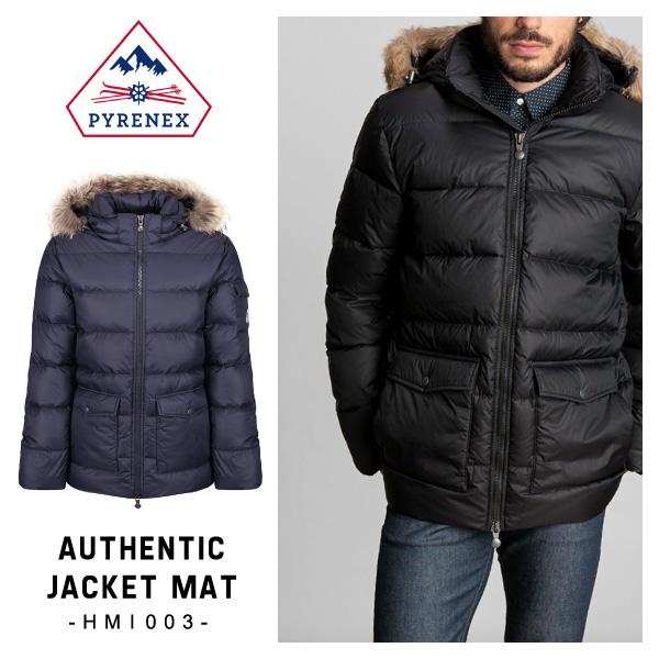【送料無料】【2017 AW】【並行輸入品】『Pyrenex-ピレネックス-』Authentic Jacket Mat〔HMI003〕