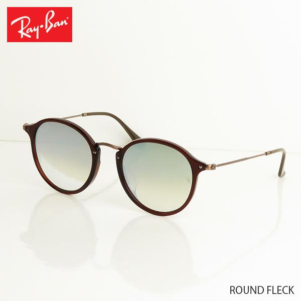 【国内正規品】『Ray-Ban-レイバン-』ROUND FLECK [RB2447NF]-ラウンドフレック ミラーレンズ 52ミリ-