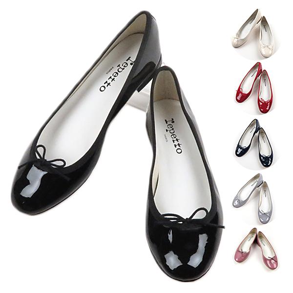 【予約】【2019SS】【並行輸入品】『repetto-レペット-』Cendrillon Patent バレエパンプス [V086V]サンドリオン パテント パンプス《ご注文後3日前後発送予定》