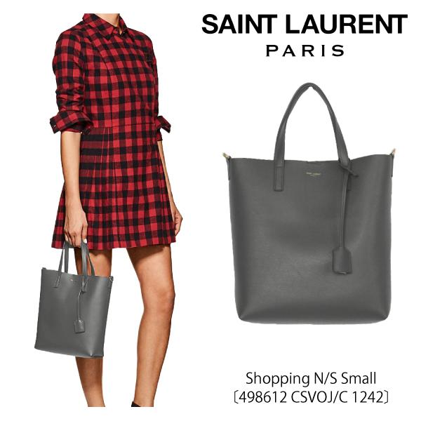 【送料無料】【並行輸入品】【2018 SS】『SAINT LAURENT-サンローラン-』Shopping N/S Small〔498612 CSVOJ/C 1242〕