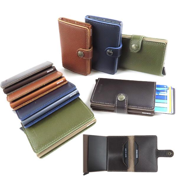 {SECRID セクリッド Mini 安心の定価販売 Wallet SAFFIANO サフィアーノ ミニマル カードケース SECRID メンズ クレジットカードケース MSa スキミング防止 迅速な対応で商品をお届け致します レディース SSa}