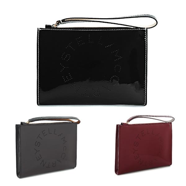 【送料無料】【並行輸入品】【2018-19AW】『STELLA McCARTNEY-ステラマッカートニー-』ACC FLAP ZIP POUCH〔502892 W8405〕