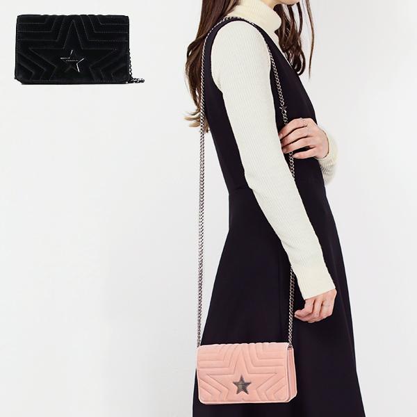 【送料無料】【並行輸入品】【2018-19AW】『STELLA McCARTNEY-ステラマッカートニー-』SMALL FLAP SHOULDER BAG〔529306 W8390〕-ステラ スター ショルダーバッグ -