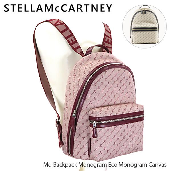 【送料無料】【2019 AW】【並行輸入品】『STELLA McCARTNEY-ステラマッカートニー-』Md Backpack Monogram Eco Monogram Canvas バックパック リュック レディース[581295W8437]【スーパーSALE開催☆ポイント最大44倍!!6/11 01:59マデ】