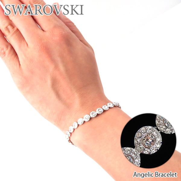 【並行輸入品】『SWAROVSKI-スワロフスキー-』Angelic Bracelet[5071173]【スーパーSALE開催☆ポイント最大44倍!!6/11 01:59マデ】