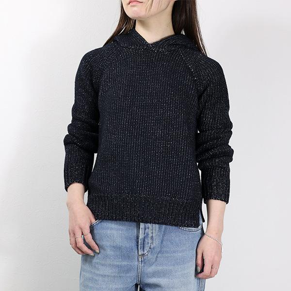 【予約】【並行輸入品】【T by Alexander Wang-ティーバイアレキサンダーワン-】Chainette Knitted Hoddie [402320R14][パーカー・プルオーバー・スウェット]≪ご注文後3日前後発送予定≫