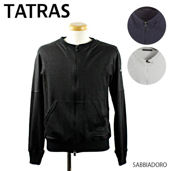 【送料無料】【並行輸入品】【2019 SS】『TATRAS-タトラス-』SABBIADORO-サッビアドーロ ブルゾン ジップアップカーデ-[MTK19S8003]