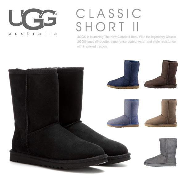 【送料無料】【並行輸入品】『UGG-アグ-』Classic Short 2-クラシック ショート ムートンブーツ-[1016223][撥水加工 アグ オーストラリア レディース シープスキン]