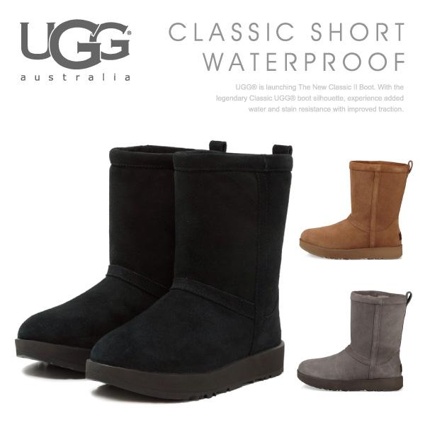 【送料無料】【並行輸入品】『UGG-アグ-』Classic Short Waterproof[1017508]