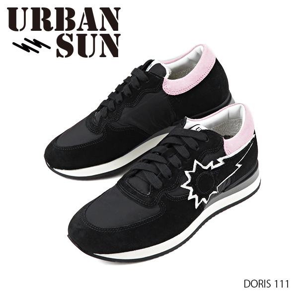 【並行輸入品】『URBAN SUN-アーバンサン-』Sneaker レディース DORIS 111 ドリス スニーカー ローカット スエードレザー