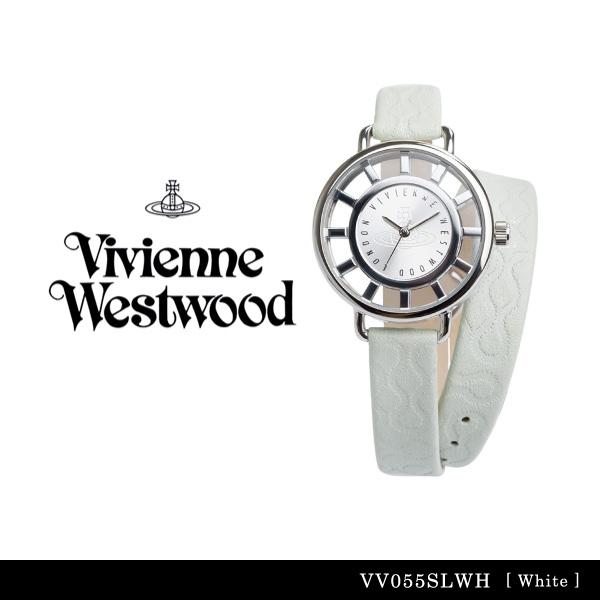 【送料無料】【並行輸入品】『Vivienne Westwood-ヴィヴィアンウエストウッド-』Tate 腕時計 [VV055 ][レディース テート ホワイト 腕時計 ウォッチ ]