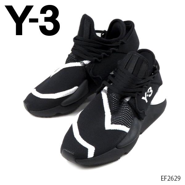 【送料無料】【2019 AW】【並行輸入品】『Y-3-ワイスリー-』KAIWA KNIT カイワ ニット メンズ スニーカー シューズ ブラック YOHJI YAMAMOTO [EF2628]