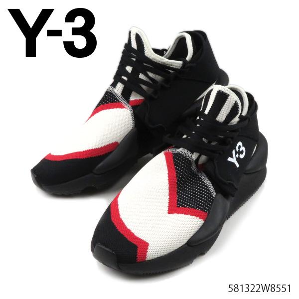 【送料無料】【2019 AW】【並行輸入品】『Y-3-ワイスリー-』KAIWA KNIT カイワ ニット メンズ スニーカー シューズ ブラック ホワイト YOHJI YAMAMOTO [EF2629]