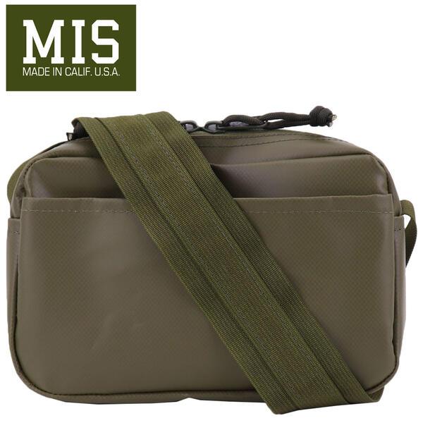 国内正規品 即日発送 MIS エムアイエス ALL WEATHER SHOULDER BAG S MIS-1027 OLIVE(オリーブ)