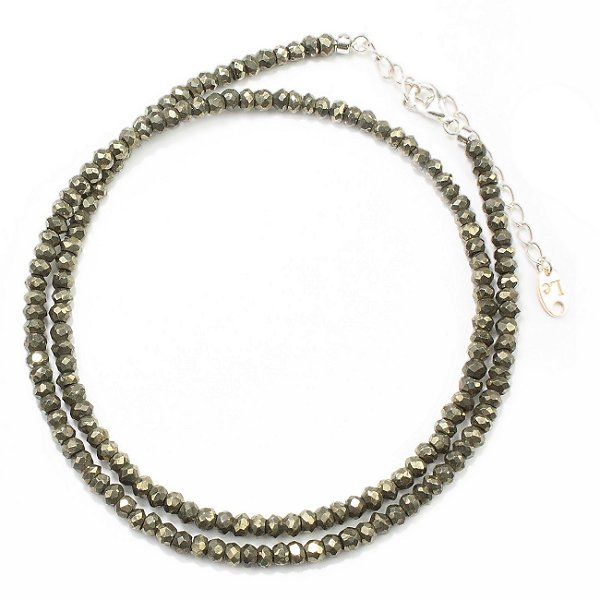 LE SEMEUR STONE NECKLACE ルスムール ストーンネックレス LESN-PYRITE (パイライト)