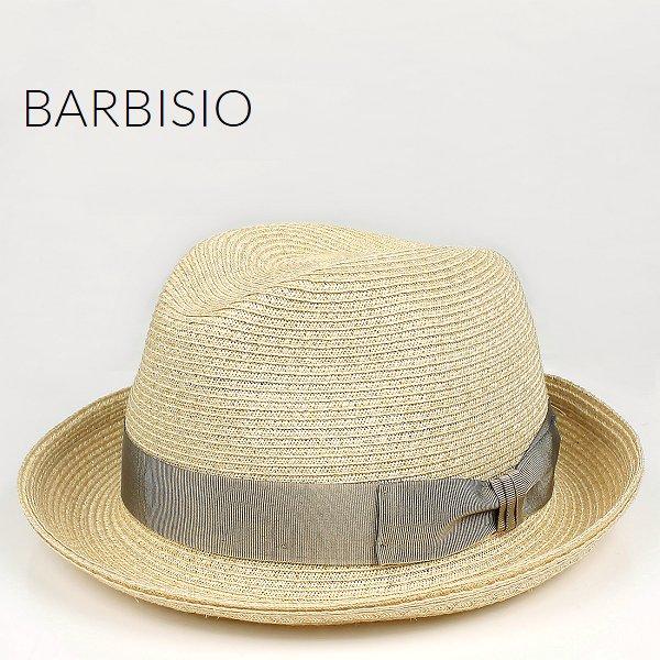Barbisio バルビジオ ユニセックス カナパ 中折れハット 40508 Grezzo (ライトベージュ)