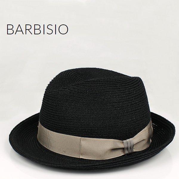 Barbisio バルビジオ ユニセックス カナパ 中折れハット 40508 Nero (ブラック)