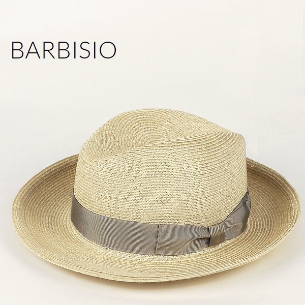 Barbisio バルビジオ ユニセックス カナパ 中折れハット 40507 Grezzo (ライトベージュ)
