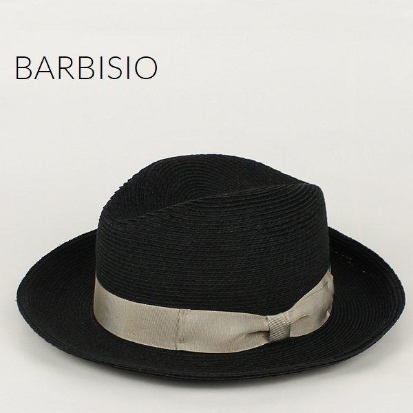 Barbisio バルビジオ ユニセックス カナパ 中折れハット 40507 Nero (ブラック)