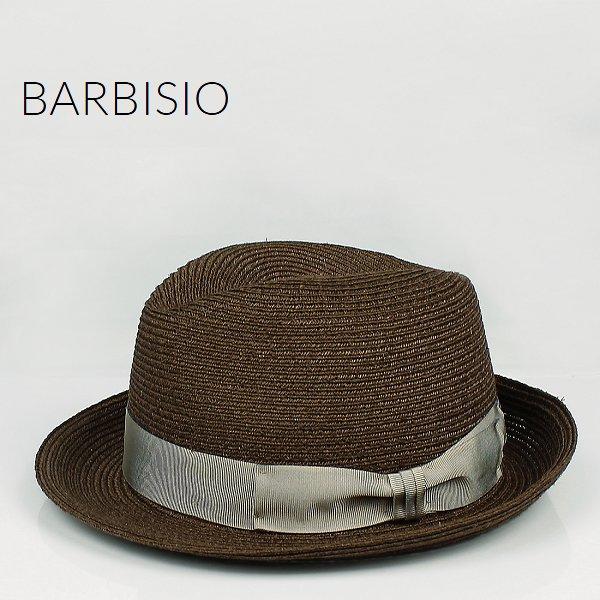 Barbisio バルビジオ ユニセックス カナパ 中折れハット 40507 Marrone (ブラウン)