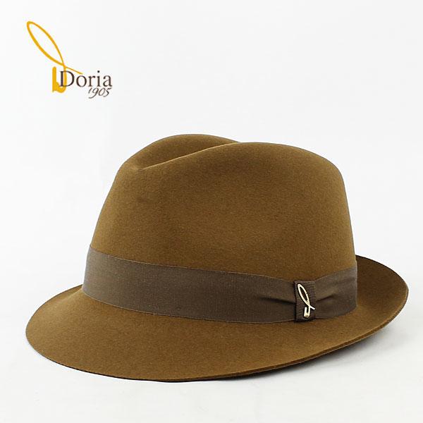 Doria1905 ドリア1905 ユニセックス 中折帽 フェドーラ D0045R-D0 0020174(ブラウン)