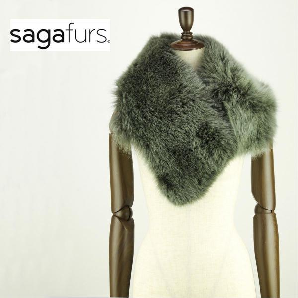 SAGA FURS サガファー フォックスストール VN-071-17F (フォーレストナイト)