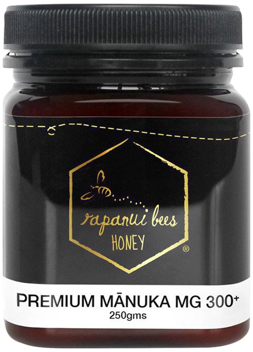 Rapanui Bees ラパヌイビーズ 天然100%純粋 プレミアムマヌカハニー MG300+ 250g マヌカハニーのハニーマルシェ ラパヌイビーズ日本正規総代理店 【返品交換不可】ニュージーランドはちみつ 生はちみつ 【送料込】