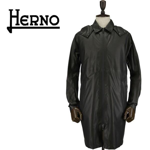 HERNO ヘルノ メンズ ラミナー ゴアテックス シェイクドライ パッカブルフーデットコート GORETEX LAMINAR SHAKEDRY PA005UL-11118 8993(ブラック)