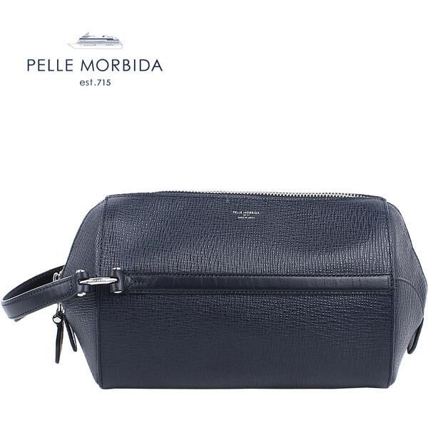 PELLE MORBIDA ペッレ モルビダ Mare マーレ サードバッグ CARINO PMO-MR008 (ネイビー)