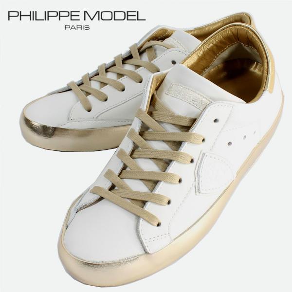 PHILIPPE MODEL PARIS フィリップモデル レディース ローカット レザー スニーカー CELD VL11 43859 067(ゴールド)