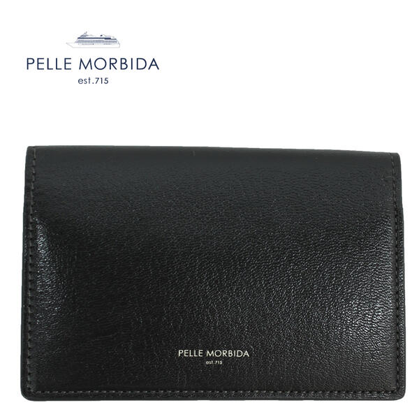 PELLE MORBIDA ペッレモルビダ ゴートレザー カードケース BA405 CGRY(チャコールグレー)
