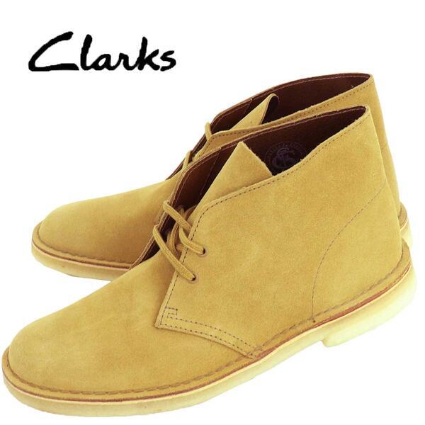 国内正規品 即日発送 CLARKS ORIGINALS クラークス オリジナルズ メンズ スエード デザートブーツ DESERT BOOT 26144231 OAK SUEDE(オーク)