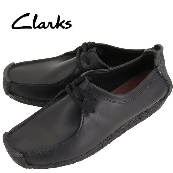 国内正規品 即日発送 CLARKS ORIGINALS クラークス オリジナルズ メンズ ナタリー レザー ドライビングシューズ NATALLE 26133272 BLACK LEATHER(ブラック)