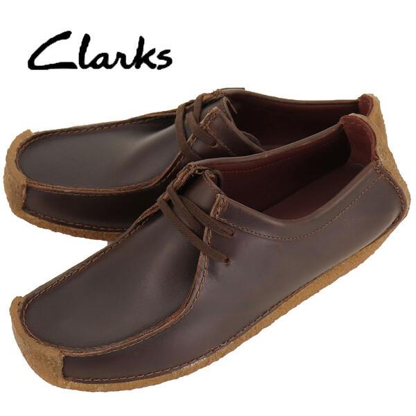 国内正規品 即日発送 CLARKS ORIGINALS クラークス オリジナルズ メンズ レザー ナタリー ドライビングシューズ NATALLE 26134201 CHESTNUT LEATHER(ブラウン)