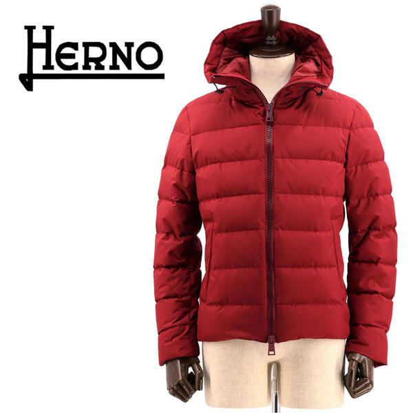 国内正規品 即日発送 HERNO ヘルノ メンズ ラミナー ゴアテックス インフィニアム ウィンドストッパー ハイネック ダウンジャケット LAMINAR GORE-TEX INFINIUM WINDSTOPPER PI123UL-11106/D 6901(レッド)