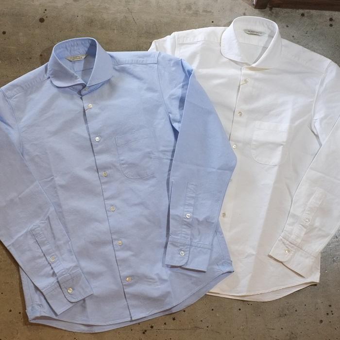 MADE Shirts カジュアルシャツ IN JAPAN オックスフォードシャツ】高密度ヘビーオックス生地 Oxford ウィンザーカラーCOTTON100% 送料無料 ORGUEIL(オルゲイユ)【OR-5053A