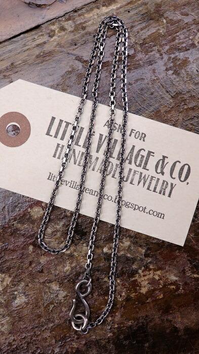 LITTLE VILLAGE&CO.(リトルヴィレッジアンドコー)【LVC Chain≪Sサイズ:58cm≫】ネックレスチェーン Silver925MADE IN JAPAN