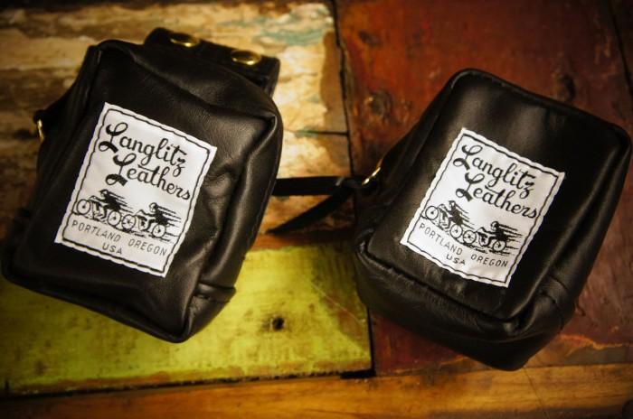 送料無料!Langlitz Leathers(ラングリッツ レザーズ)Handy Belt Bag ◆◆ハンディーベルトバッグLANGLITZ LEATER
