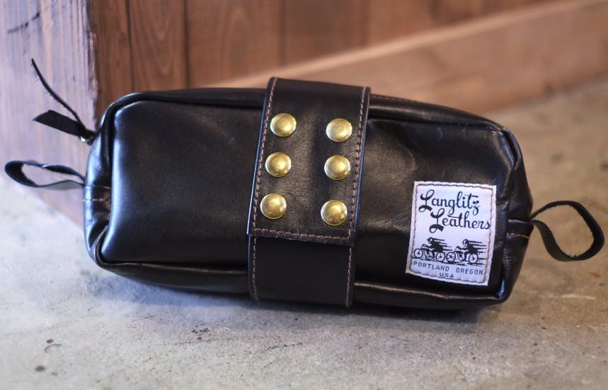 送料無料!Langlitz Leathers (ラングリッツレザー)【Touring Bag Top Zip】ツーリングバック≪トップジップ≫10インチのツーリングバッグ