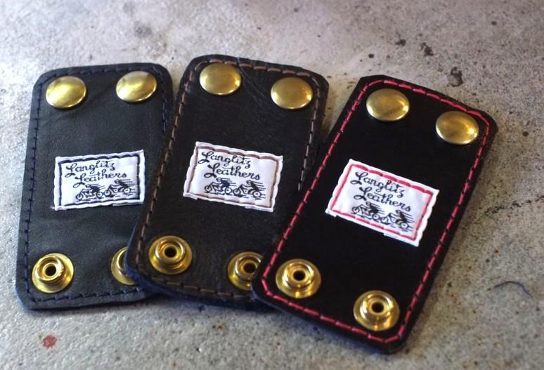 Langlitz Leather(ラングリッツ レザー)◆【Strap Keeper】ストラップキーパー※ネコポス可能(ポスト投函・代引・日時指定不可)