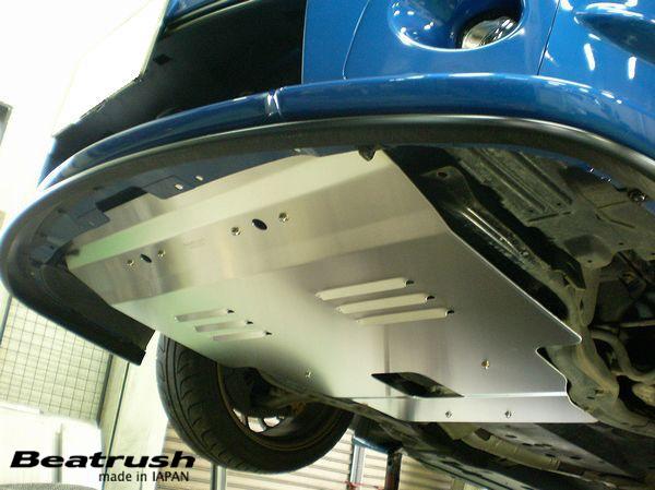 エンジンルームの熱を効率よく排出しエンジンのヒートアップを防ぎます Beatrush アンダーパネル スバル インプレッサ 使い勝手の良い 安売り GDA レイル ※ターボ車専用 LAILE ※一部地域除く GDB 送料無料